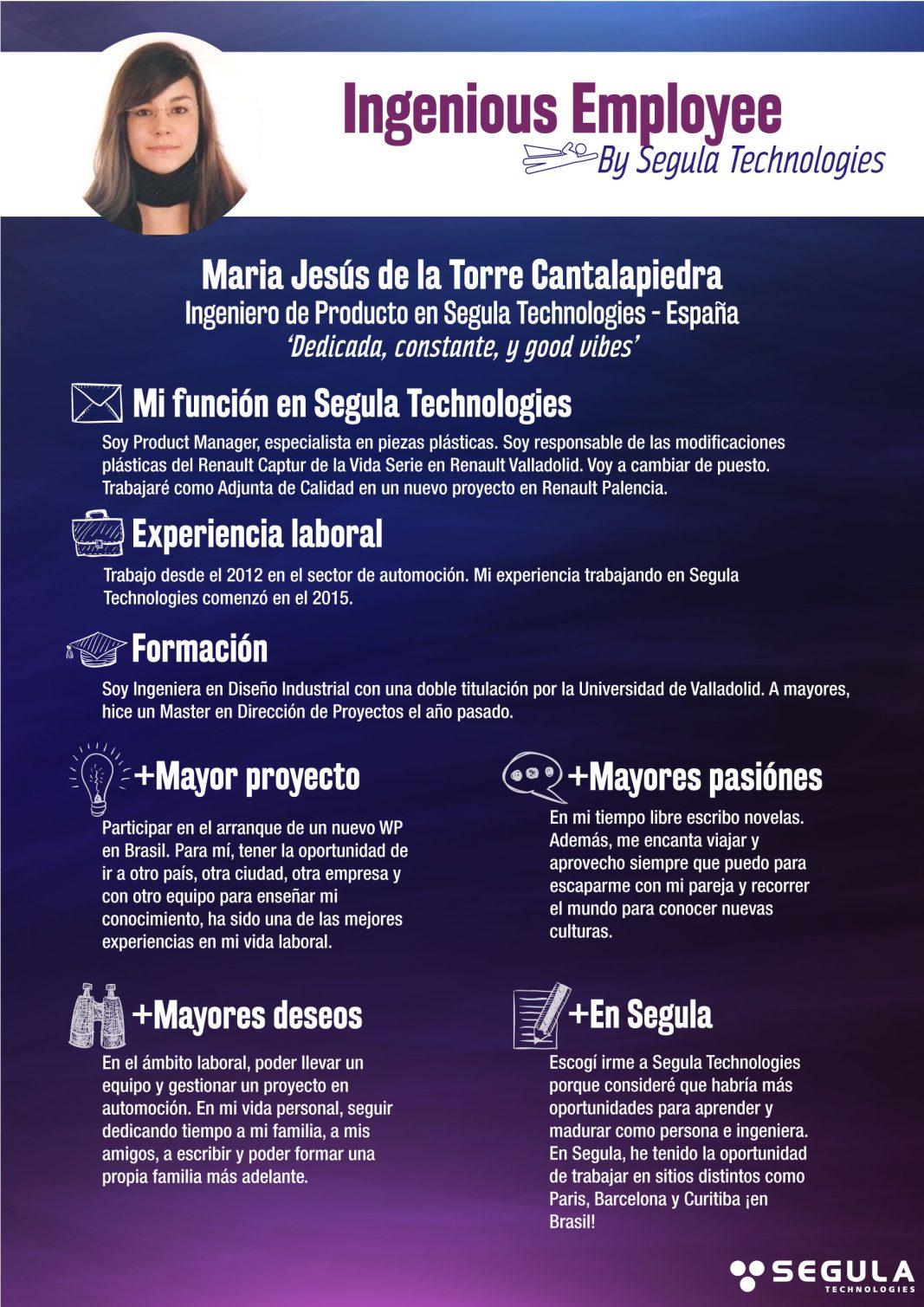 Ingenious-maria-itw-ES